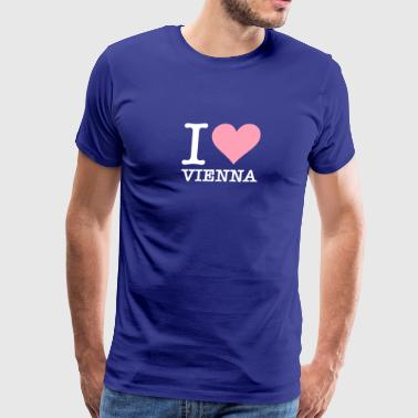 I Love Vienna - Men's Premium T-Shirt