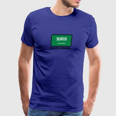 National Flag Of Saudi Arabia - Men's Premium T-Shirt
