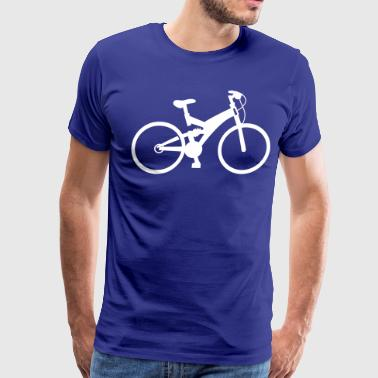 Bicycle Outline bicycle - Men's Premium T-Shirt