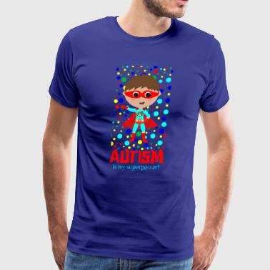 Autism Awareness Day Heroe Autistic Kid Tshirt - Men's Premium T-Shirt
