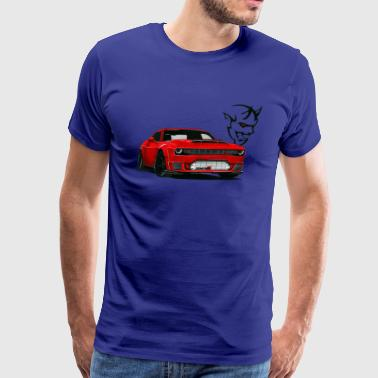 Dodge Srt DODGE DEMON - Men's Premium T-Shirt