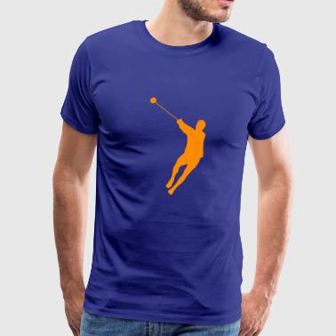hammer throwing - Men's Premium T-Shirt