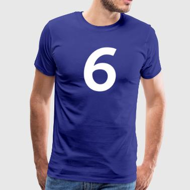 Sport Number 6 Six - Men's Premium T-Shirt