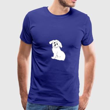 Bichon Frise Max the dog - Men's Premium T-Shirt