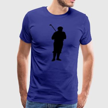 Golfer Apparel Golf Clothing Shirts  - Men's Premium T-Shirt
