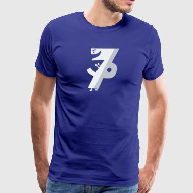 Number Seven Ate Nine - Men's Premium T-Shirt