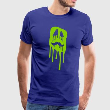 Ugly Face Ugly slime face - Men's Premium T-Shirt