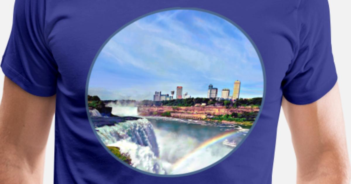 how to open iphone niagara falls ny the rainbow s premium t shirt 14301