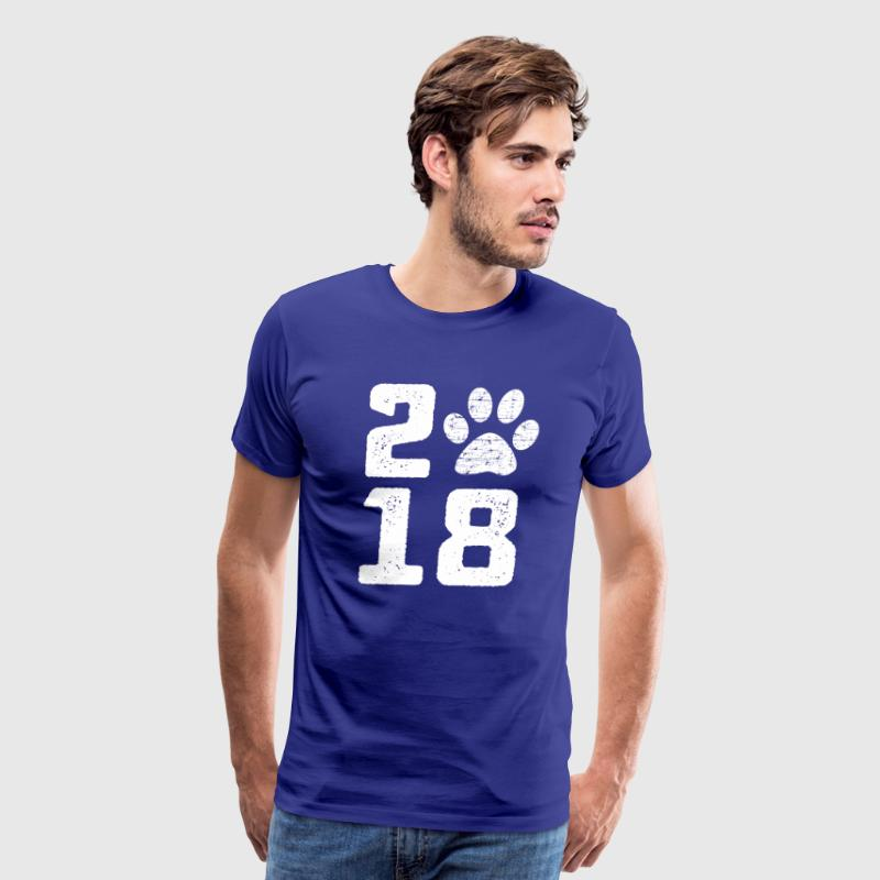 2018 Chinese New Year of the dog T-Shirt - Men's Premium T-Shirt