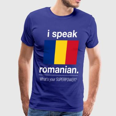 Romanian superpower - Men's Premium T-Shirt