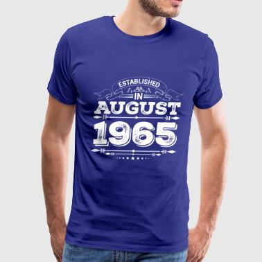 Established in August 1965 - Men's Premium T-Shirt