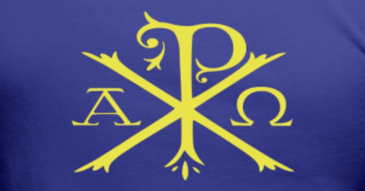 Chi Rho Symbol By Tradcat Spreadshirt