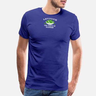 Tastebooster Lettuce The Taste Of Sadness - Men's Premium T-Shirt