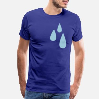 Tear droplets dripping tears tear drop - Men's Premium T-Shirt
