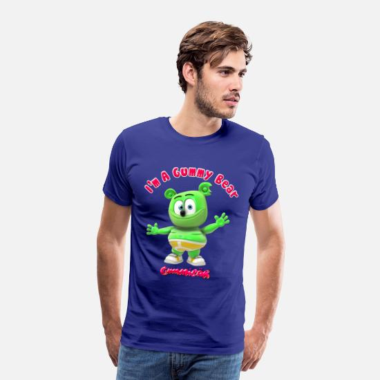 Gummy T-Shirts - I'm A Gummy Bear - Men's Premium T-Shirt royal blue