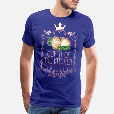 Fruits queen_of_the_kitchen_02201616 - Men's Premium T-Shirt