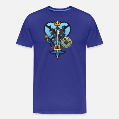 e133eb4664dffe Kingdom Hearts) All for One and One for All Men's T-Shirt | Spreadshirt