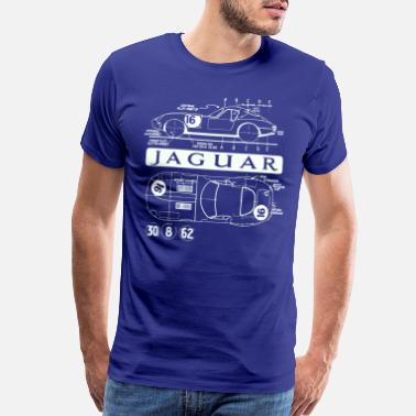 Jaguar lightweight xke - Men's Premium T-Shirt