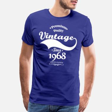 1968 Premium Quality Vintage Since 1968 Limited Edition - Men's Premium T-Shirt