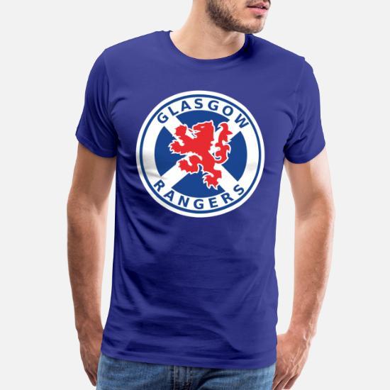 Ready design up to 5XL Glasgow Rangers T-shirt