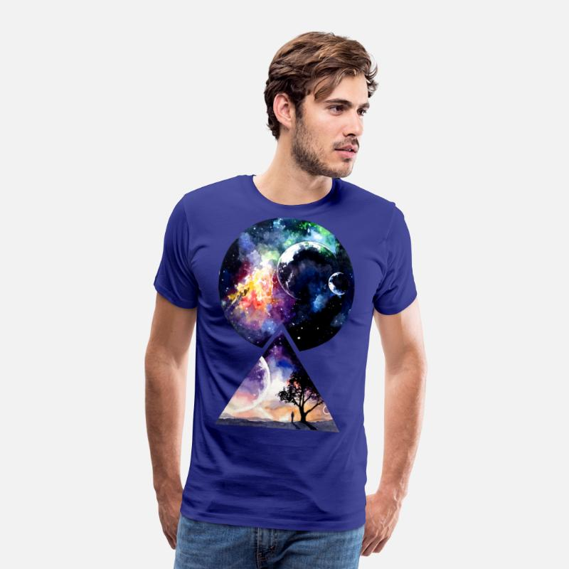 We T-Shirts - Galaxy - We are all Made of Star Stuff - Men's Premium T-Shirt royal blue