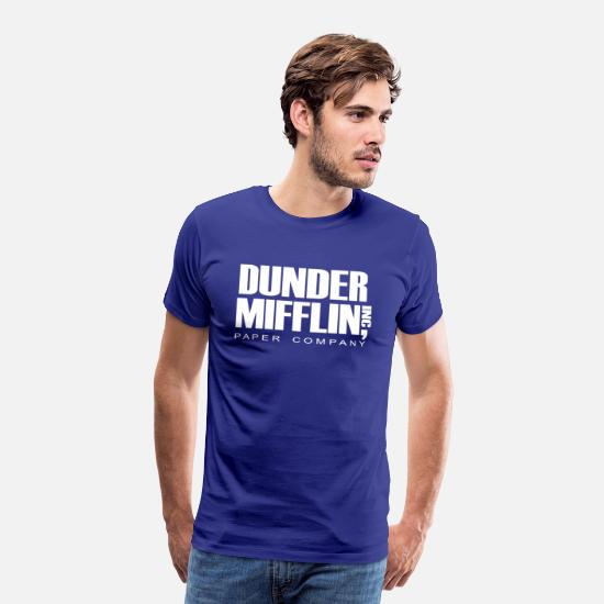 The Office T-Shirts - Inc The Office - Men's Premium T-Shirt royal blue