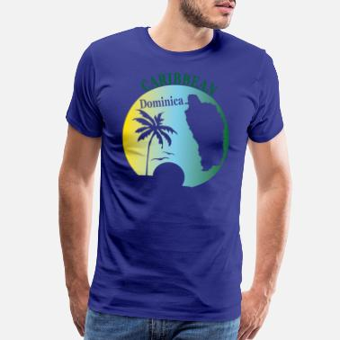 Dominica DOMINICA 2 - Men's Premium T-Shirt
