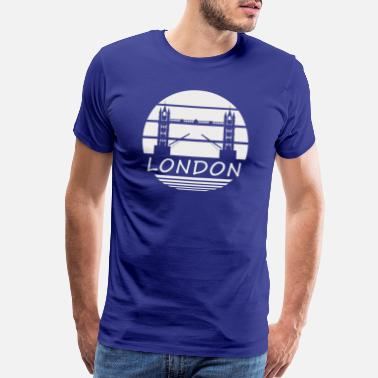 I Love London London Tower Bridge England United Kingdom - Men's Premium T-Shirt