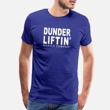 Beets Dunder liftin GYM muscule company - Men's Premium T-Shirt