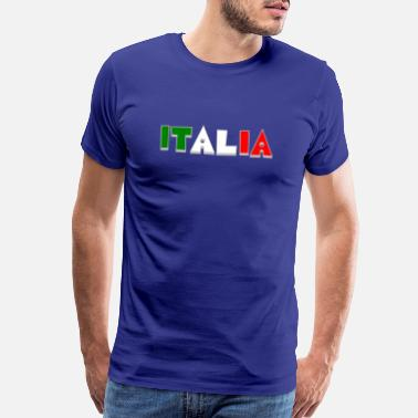Italia Italy - italy - Pizza - Pasta - Rome - nat. colors - Men's Premium T-Shirt