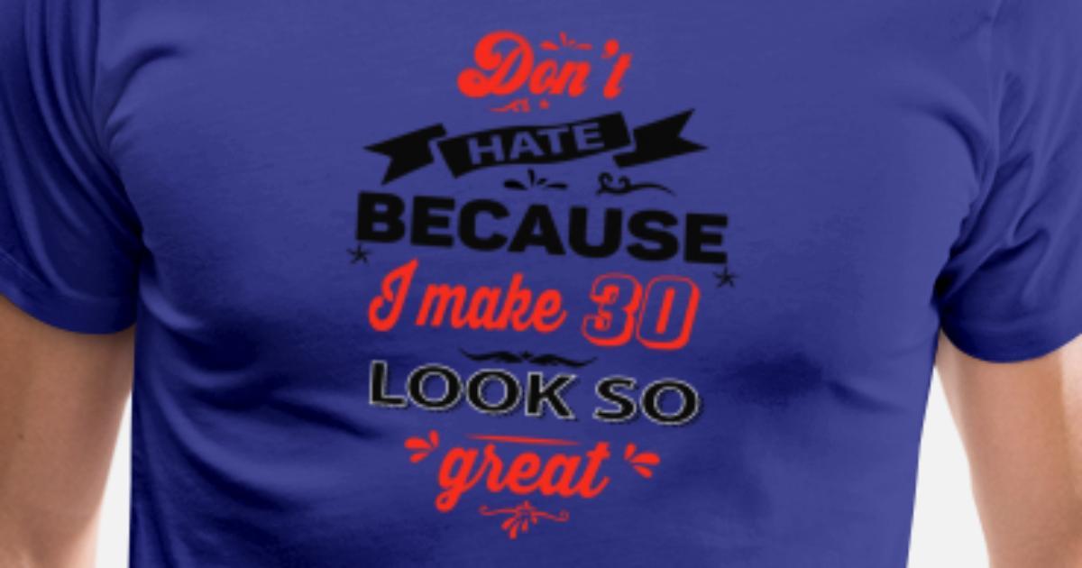 Mens Premium T Shirt30th Birthday Designs
