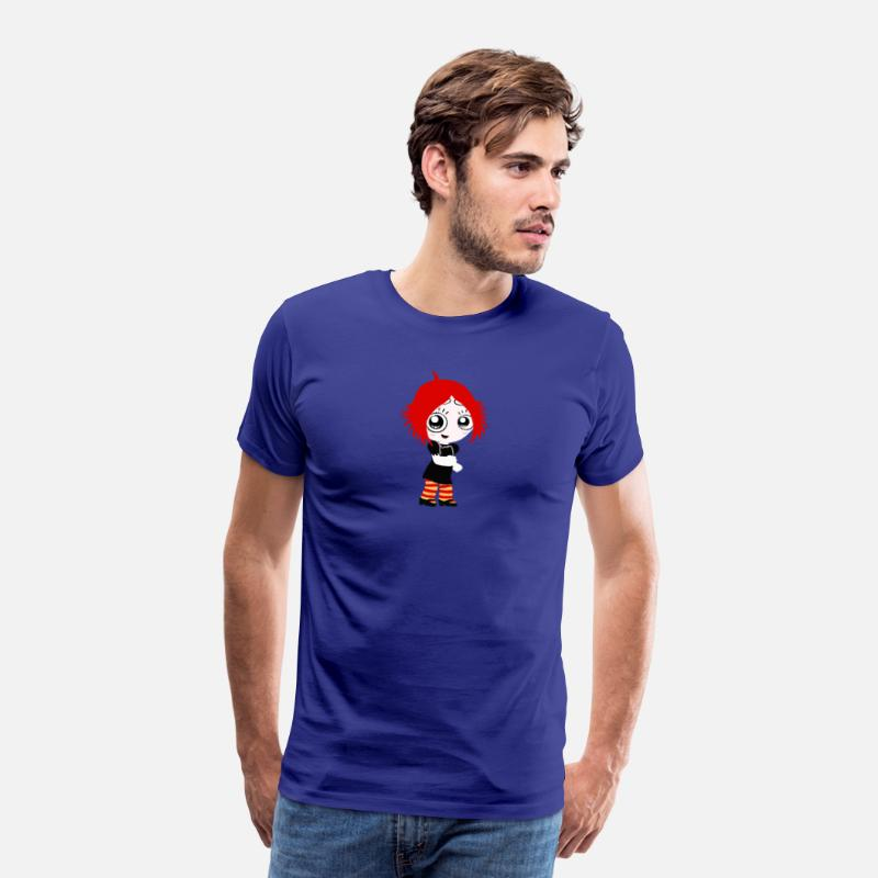 Animal T-Shirts - Ruby Gloom - Men's Premium T-Shirt royal blue