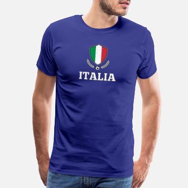 Italia Soccer Italy Champions Italia Italy Soccer Football Gift idea retro  - Men s Premium T- f7190bd02