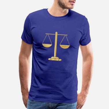 Justice-authority justice - Men's Premium T-Shirt