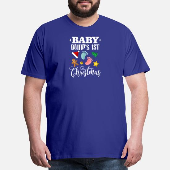 e5b9436f42d95 ... Baby Bumps 1st Christmas Maternity - Men's Premium T-Shirt. Do you want  to edit the design?