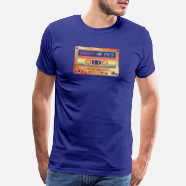 1953 Best Of 1953 Gifts Cassette Tape vintage - Men's Premium T-Shirt