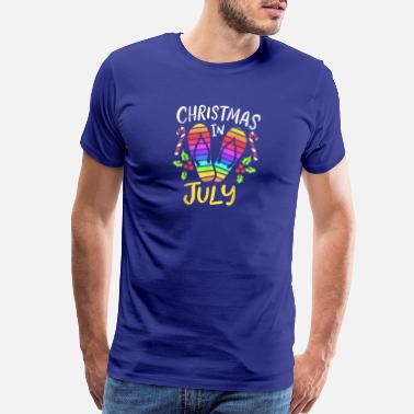 July Fourth Christmas In July Summer Vacation - Men's Premium T-Shirt