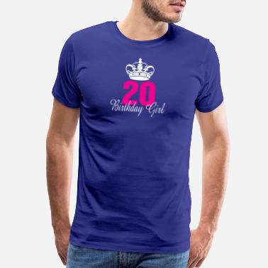 20 Years Old Birthday Birthday Girl 20 Years Old - Men's Premium T-Shirt