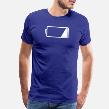 Battery Low Low Charge - Low Battery - Men's Premium T-Shirt