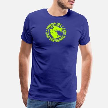 Pangea New Design Pangea Day Stop Continental Drift - Men's Premium T-Shirt
