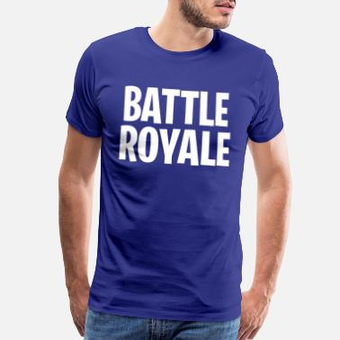 Youtube Video BATTLE ROYALE – Gaming Inspired Design - Men's Premium T-Shirt