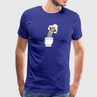 A Clown Jumps Out Of A Pot - Men's Premium T-Shirt