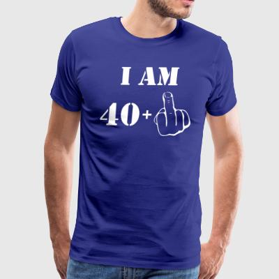 41st Birthday T Shirt 40 + 1 Made in 1976 - Men's Premium T-Shirt