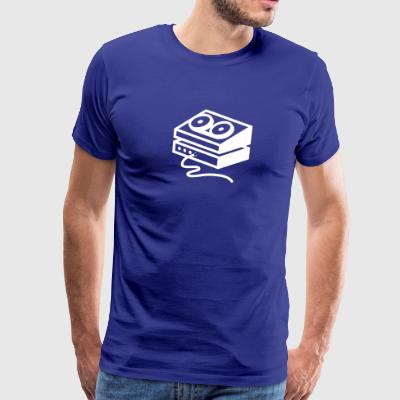 Old-fashioned Tape Recorder - Men's Premium T-Shirt