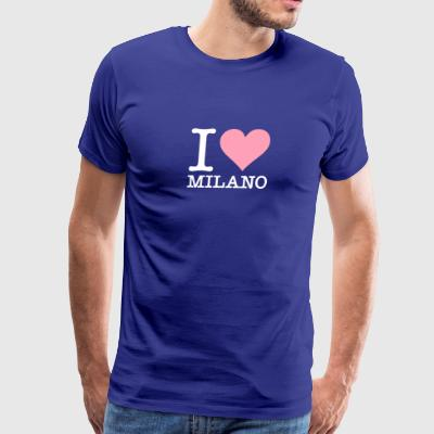 I Love Milan - Men's Premium T-Shirt