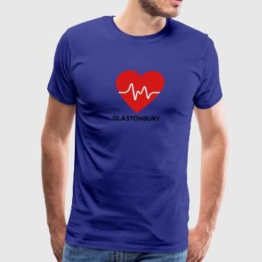 Heart Glastonbury - Men's Premium T-Shirt