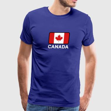 National Flag Of Canada - Men's Premium T-Shirt