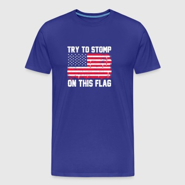Old Glory Deserves Better - Men's Premium T-Shirt