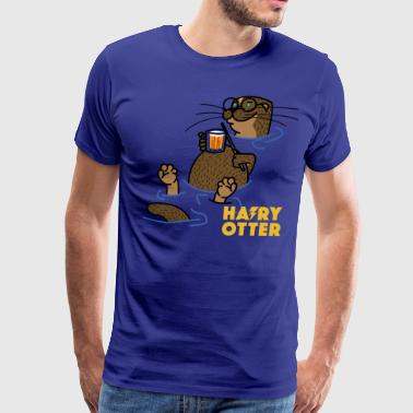 Hairy Otter - Men's Premium T-Shirt
