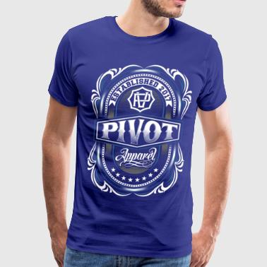 PIVOT APPAREL crest - Men's Premium T-Shirt